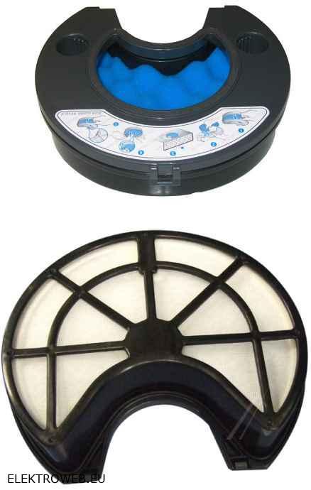 Porszívó alkatrész, Rácsos szivacs mikroszűrő egység SC 8570, VCC8570, SC8450 Samsung porszívóhoz ew03808