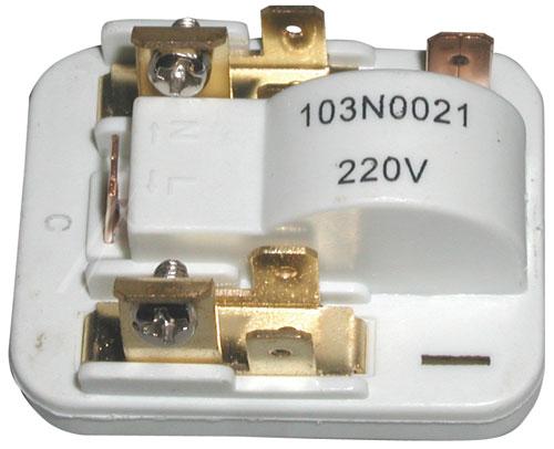 Hűtőgép alkatrész 103N0021 Danfoss indítórelé, Startrelé  (UNIVERZÁLIS) ew00654
