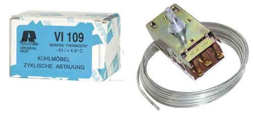 TERMOSZTÁT VI109  RANCO Alkalmas a K59L2635 termosztát helyettesítésére  ew00743