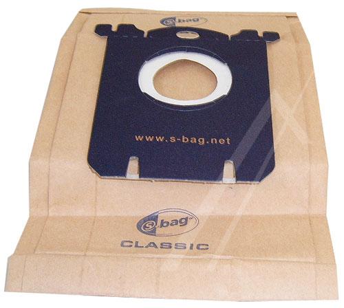 Porszívó alkatrész Papír PORZSÁK S-BAG, E200 AEG, Electrolux Philips 5DB ew01745