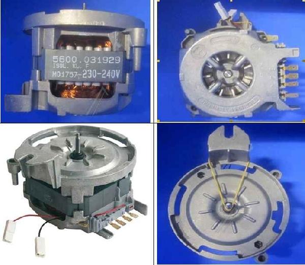 Mosogatógép alkatrész motor keringető szivattyúhoz SIEMENS, BOSCH ew02254