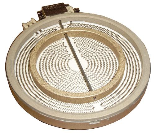 Tűzhely alkatrész, KERÁMIA főzőlap, Univerzális kétkörös energiaszabályzós, villanytűzhelyhez ew02471