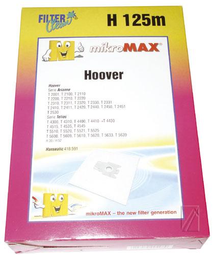 H125 PORSZÍVÓZSÁK 5DB HOOVER ew02934
