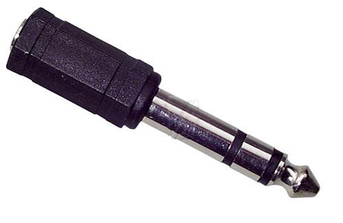 Csatlakozó adapter jack 6.3MM STEREO JACK DUGÓ/3.5MM STEREO JACK ALJ ew02958
