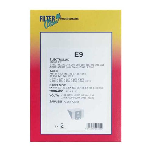 Porzsák E9 ACEC, Electrolux porszívókhoz ew03291