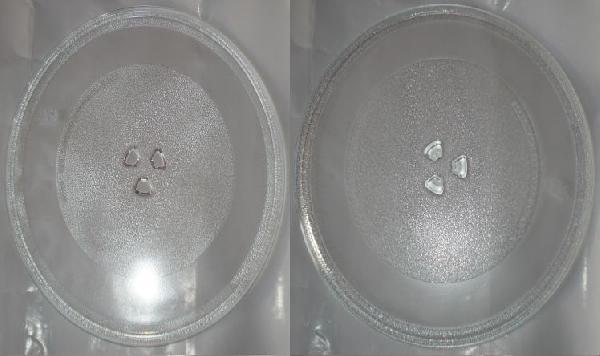 Mikrosütő alkatrész tányér 32cm univerzális csillag középpel LG ew03302
