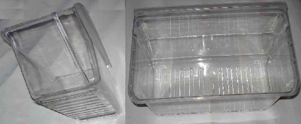 Zöldség- gyümölcstartó edény LG (pl. GR-292SQ) hűtőszekrénybe ew03432