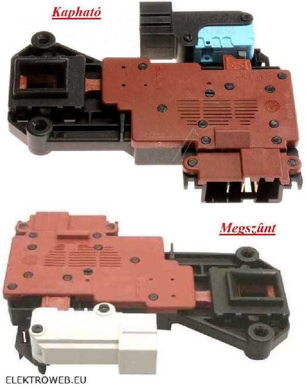 Mosógép alkatrész, Ajtókapcsoló  mikrokapcsolóval WHIRLPOOL,AWM, AWM622, AWM612 mosógépekhez ew03548