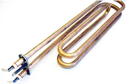 Bojler alkatrész, Hajdu Z típusú 30mm-es, bojlerhez Bojler fűtőbetét 2000W-os ew03564