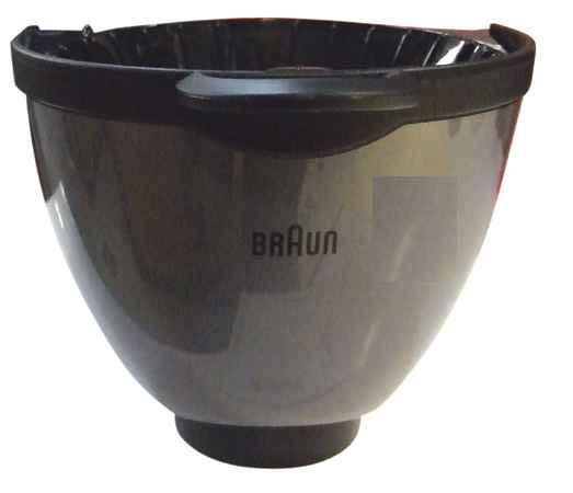 Komplett szűrő Braun Aroma Passion, AromaDelux, Cafehouse kávéfőzőhöz ew03567