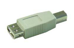 USB adapter, átalakító USB A alj - USB B dugó ew03696