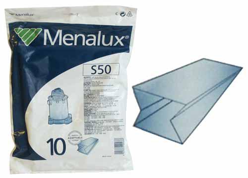 Porszívó alkatrész, S50 Porzsák,papírzsák 10db-os csomagk,porszívóhoz ew03722