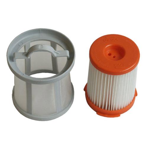 Porszívó alkatrész, HEPA porszívószűrő betét szűrővédővel Zanussi ZAN1655 porszívóhoz ew03752