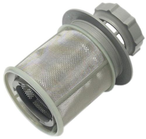 Mosogatógép alkatrész, hengeres műanyag Vízszűrő, finomszűrő Bosch SGS53, SGS43, SRS53 mosogatógéphez ew03868