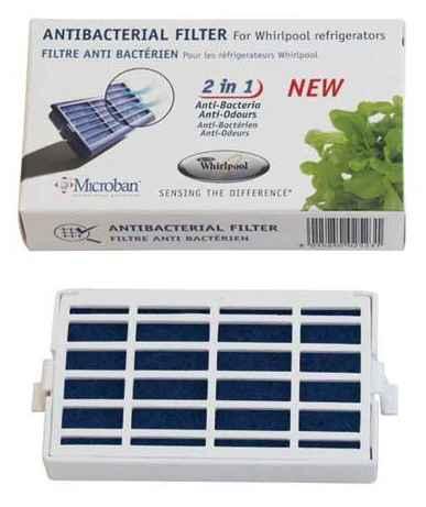 SBS Szűrő, Antibakteriális filter Whirlpool Side by side hűtőkbe ew03981