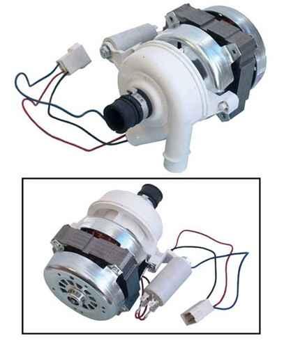Mosogatógép alkatrész, keringető szivattyú komplett Indesit Ariston mosogatógéphez ew040114