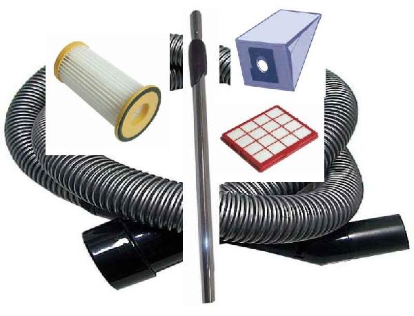Porszívó alkatrész, szűrő, cső, porzsák, teleszkópcső, gégecső, stb. EW04138
