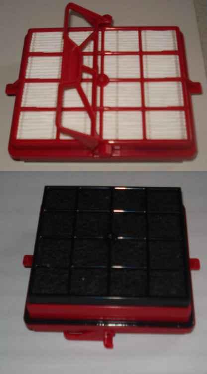 Porszívó alkatrész,  ELECTROLUX aktívszén szűrő D920,D950,AP11 porszívókhoz ew04207