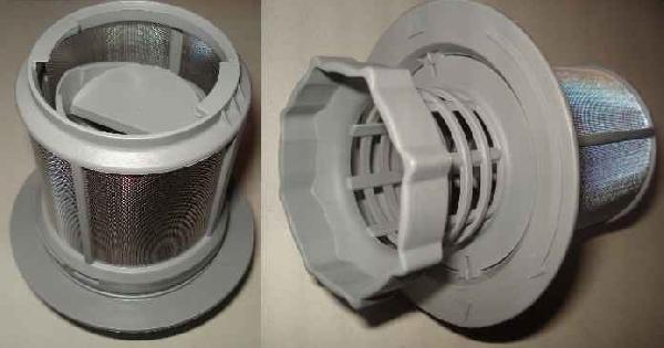 Mosogatógép alkatrész Fém finomszűrő Bosch  SGS53E02AU30 mosogatógépekhez ew04212
