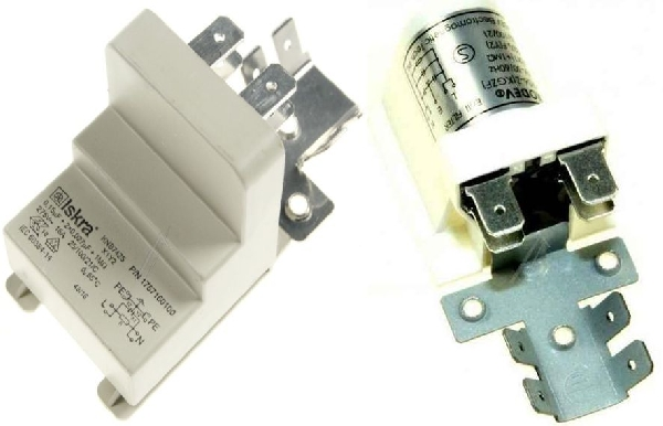 Mosogatógép alkatrész, Zavarszűrő kondenzátor whirlpool, ADP553, Beko mosogatógéphez ew04276