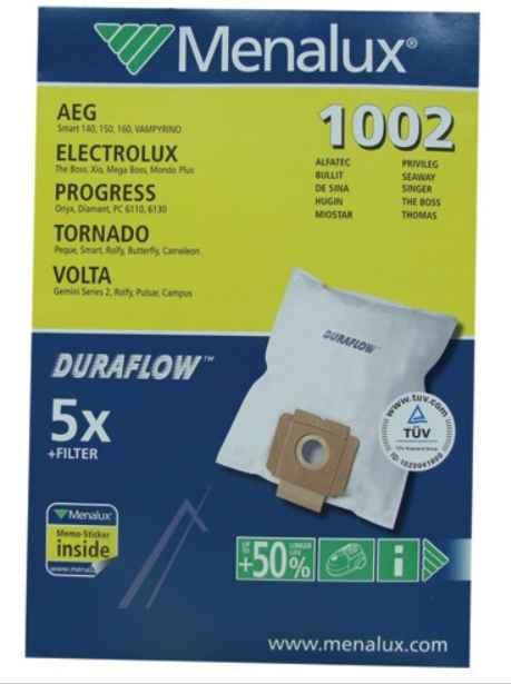 Porszívó alkatrész, Mikroszűrős porzsák, progress, Electrolux porszívókhoz ew04314