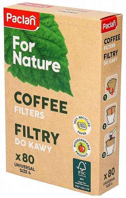 ALUFIX Papír kávéfilter 4 személyes (100db/csomag) ew04370