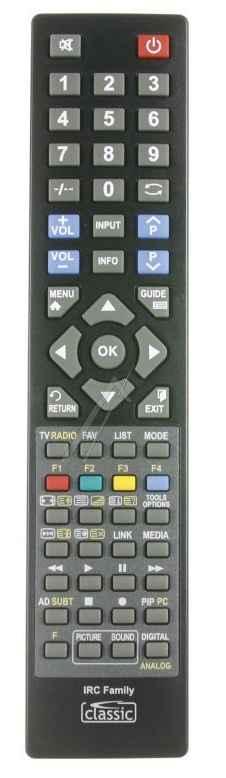 TV távirányító Univerzális IRC Family IRC84201-GR minden Grundig TV-hez alkalmas ew04384
