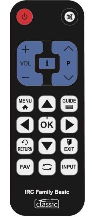 TV Távirányító univerzális, IRC84304-PH minden Philips TV-hez alkalmas 04385