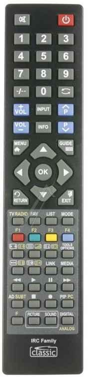 TV Távirányító univerzális, IRC84202-LG  minden LG TV-hez alkalmas 04383