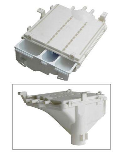 Mosószeradagoló tartály komplett Whirlpool FL5103, Indesit, Westel mosógéphez ew04483