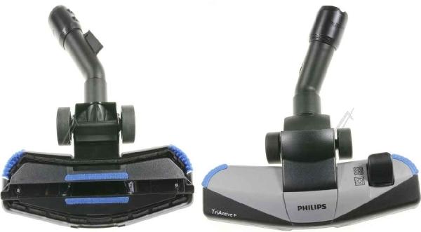 Porszívó alkatrész, Kombinált Görgős Szívófej 35mm Philips TRIACTIVE+ FC9190,FC9193 Szélessége: 285mm ew04523