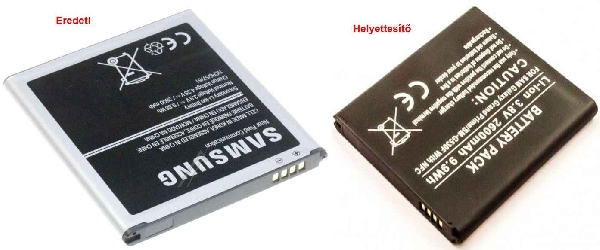 Mobiltelefon akku Samsung Galaxy J3,J5 mobiltelefonhoz ew04569