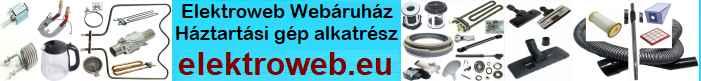 elektroweb webáruház, webshop
